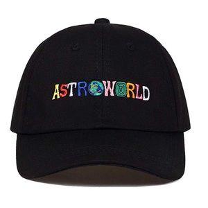Other - Astroworld Embroidered Hat + adjustable strap